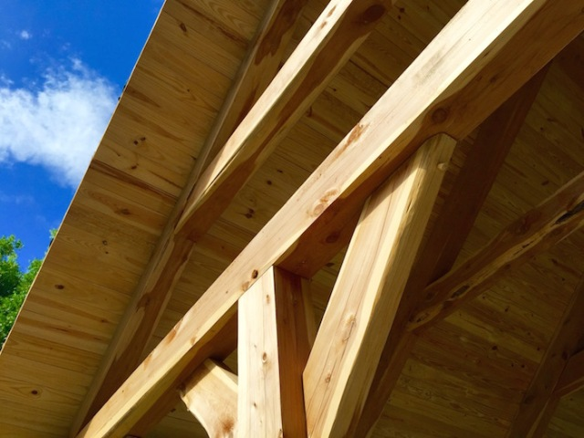 Timber framed joint